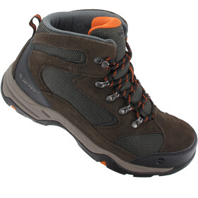 Hi-Tec Storm WP Zapatillas Hombre, dark chocolate/dark taupe/burnt orange